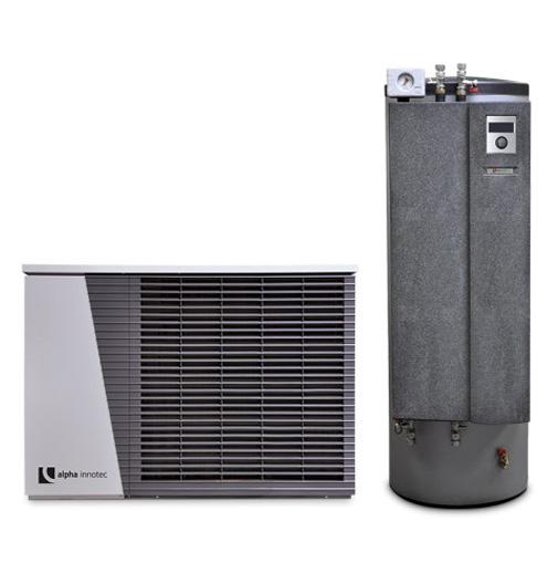 Alpha innotec šilumos siurblys oras-vanduo Alira LWD 70A-HTD 8,5 kW su integruota 180l karšto vandens talpa nuotrauka